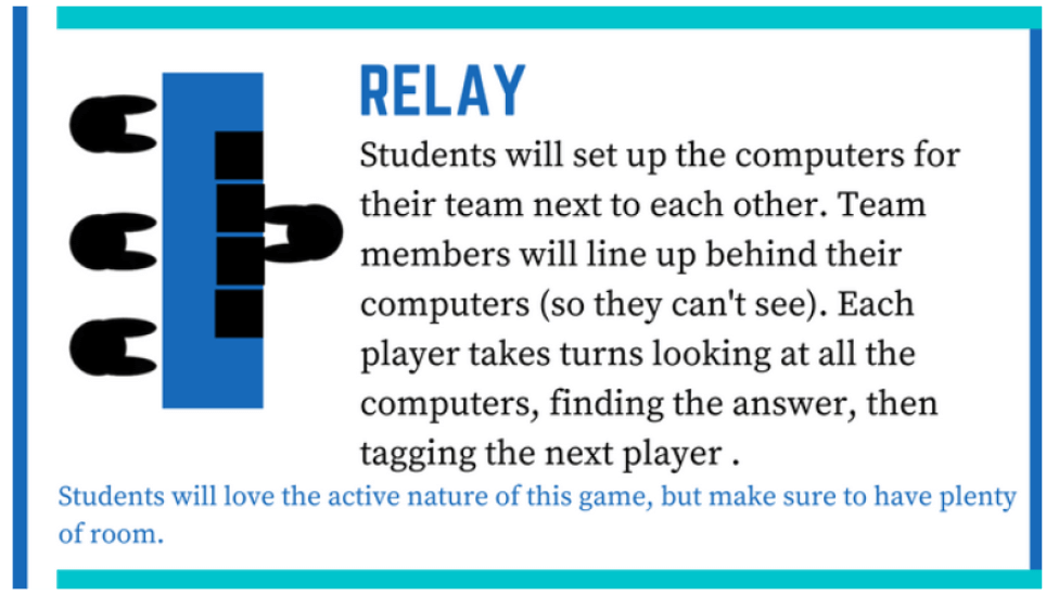 6 new ways to play quizlet live-Relay