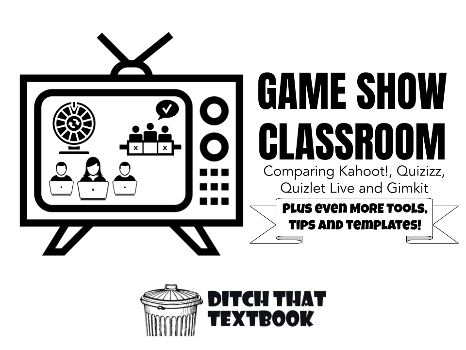 gameshow classroom comparing kahoot quizizz quizlet live gimkit