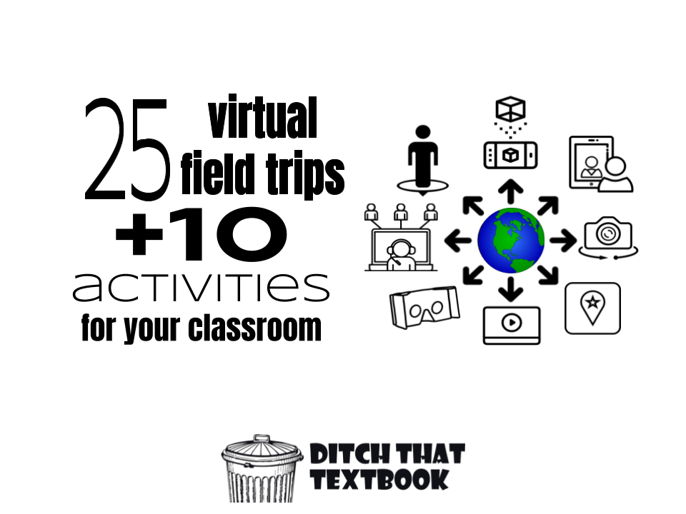 25 Virtual field trips+10 activities for your classroom icon