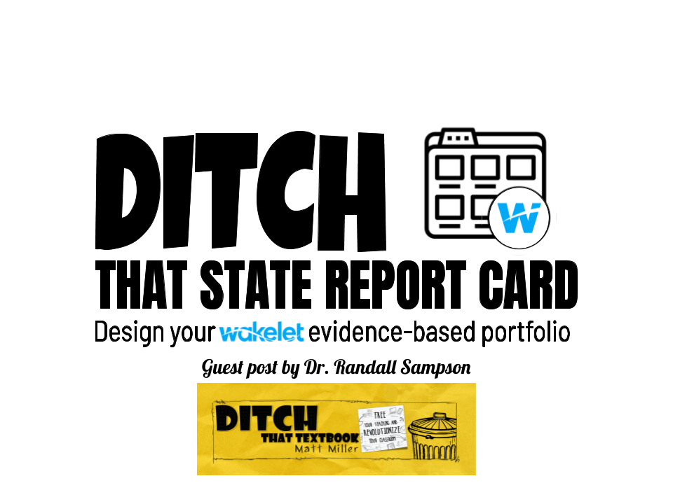 Ditch that state report card