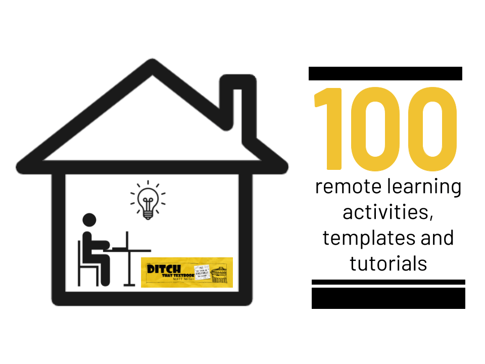 100 remote learning activities, templates and tutorials (1)