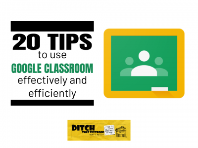 20 tips to use Google Classroom effectively and efficiently (1)