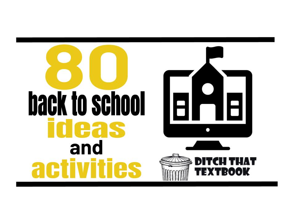 80 back to school activities