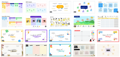 Canva template gallery