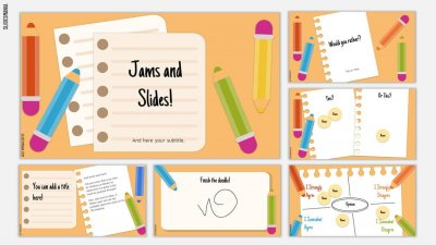Jams and slides template