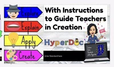 HyperDocs lesson plan template