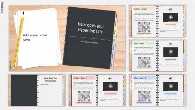 Hyperdoc Handbook SlidesMania Template