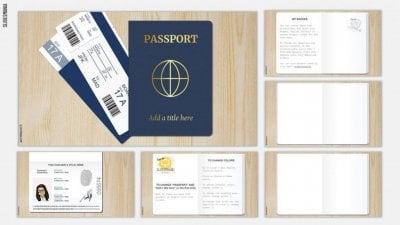 Passport SlidesMania Template