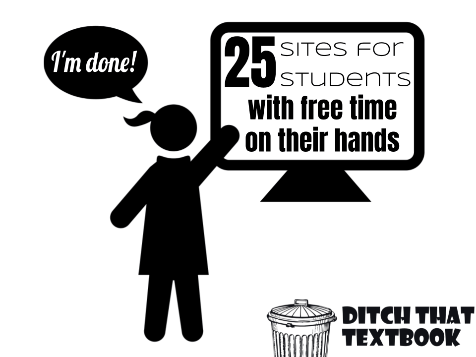 25 sites for students with free time on their hands Icon
