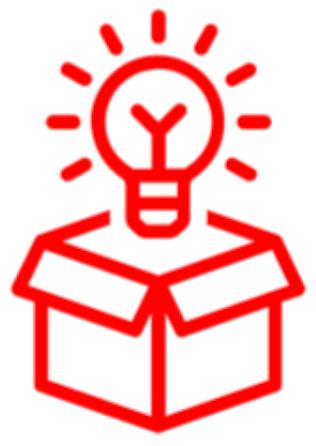 Lightbulb in a Box Icon