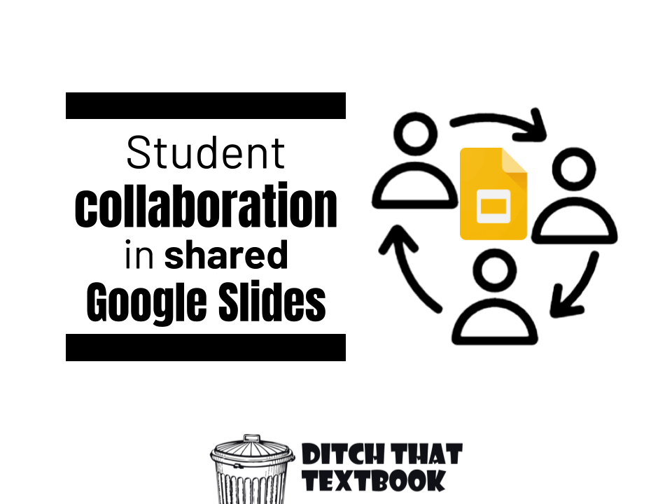 Student collaboration in shared Google Slides - Ditch That Textbook